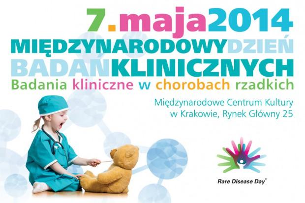 """Międzynarodowy Dzień Badań Klinicznych. Konferencja """"Badania kliniczne w chorobach rzadkich"""""""