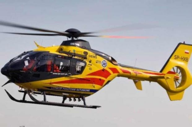 Pijany sprawca wypadku zmusił helikopter LPR do lądowania