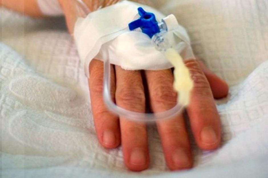 Niedożywiony chory na raka nie wytrzymuje trudów leczenia
