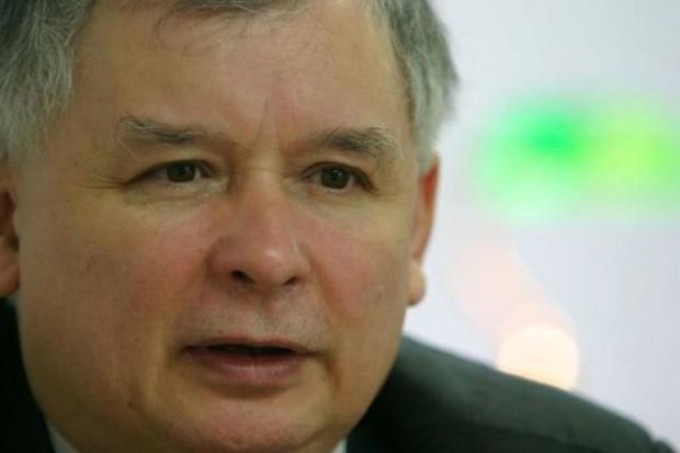 Jarosław Kaczyński: Tusk stchórzył, zasłania się Arłukowiczem