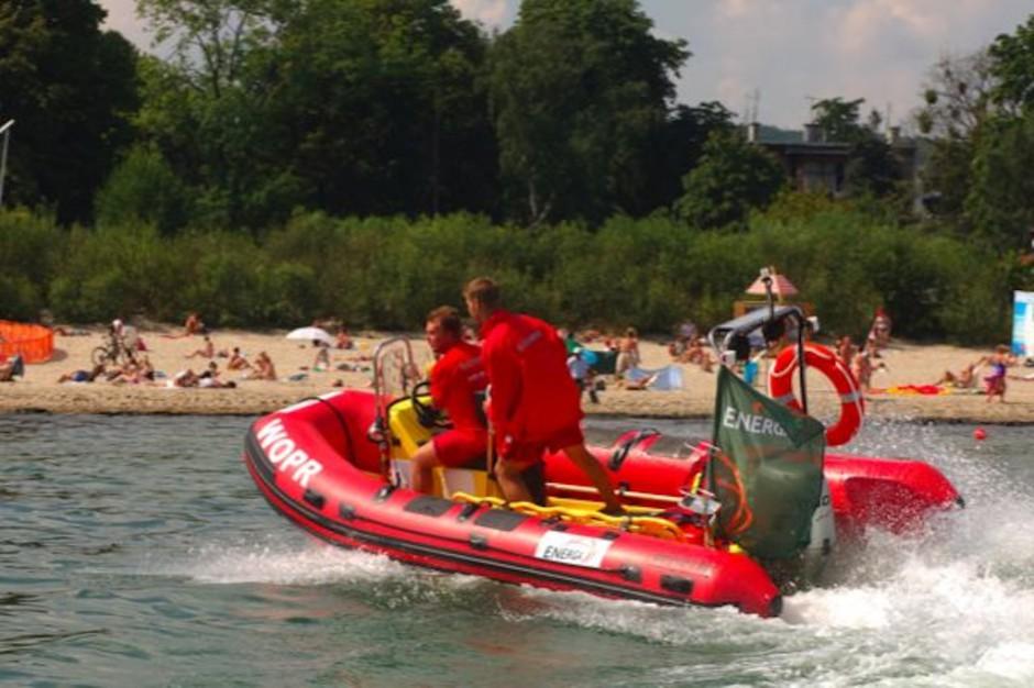 WOPR w Płocku otrzymał łódź ratunkową