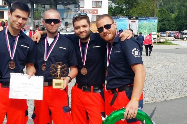 Ratownicy medyczni z Krakowa wicemistrzami świata
