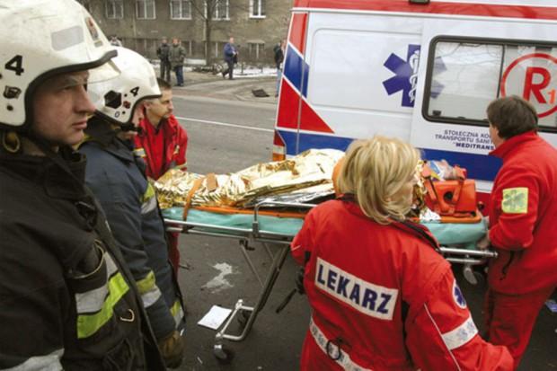 Katowice: nie żyją dwie osoby, w tym obserwator akcji ratowniczej