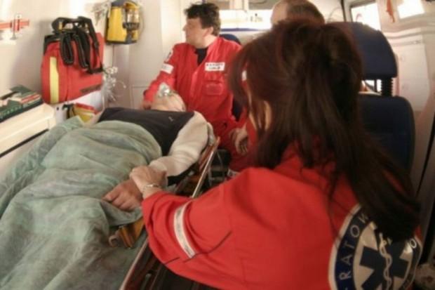 Słupsk: szpital ćwiczył ratowanie ofiar wypadku autobusu
