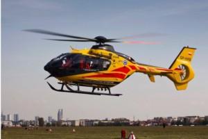 Ranny w wypadku nie zgodził się na transport śmigłowcem