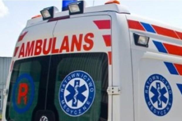 Małopolska: wypadek karetki niedaleko Oświęcimia