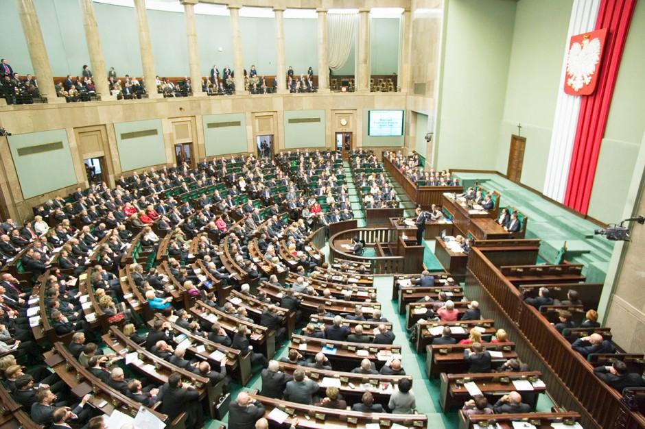 Pakiet został przeczytany w Sejmie