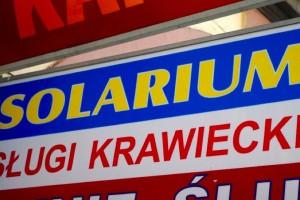 Solarium dozwolone od lat 18