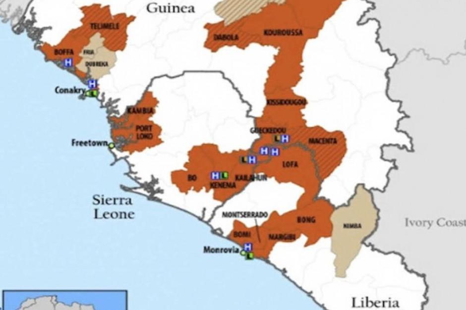 Liberia: eksperymentalnego leku na Ebolę wystarczy tylko dla dwóch lekarzy