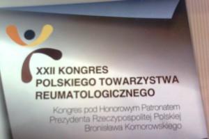 Zakończył się XXII Kongres Polskiego Towarzystwa Reumatologicznego