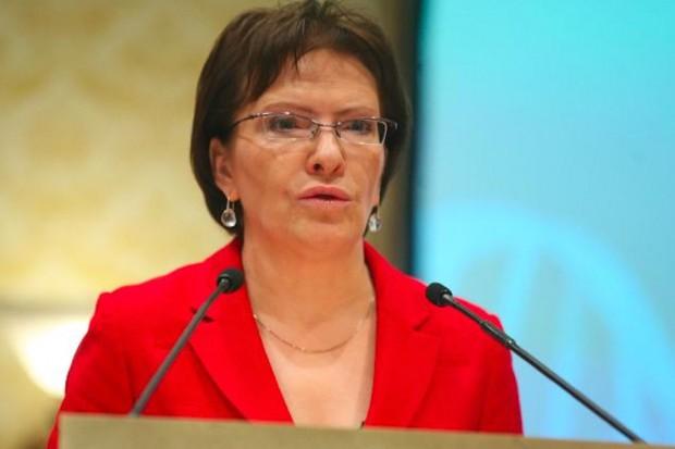 Ewa Kopacz niemal gotowa do podania składu rządu