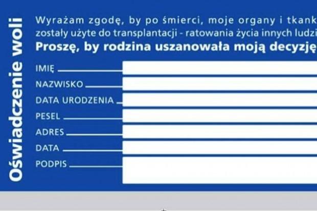 Badanie: 70 proc. Polaków ocenia, że mało wie o przeszczepach narządów