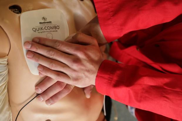 Nowy Sącz: zawałowcy uczyli się resuscytacji
