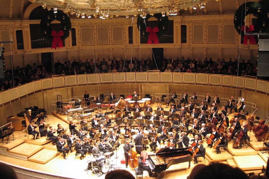 Warszawa: Chicago Symphony Orchestra zagrała dla dzieci ze szpitala na Niekłańskiej