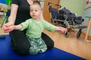 W Lublinie dzieci przetestowały amerykański egzoszkielet