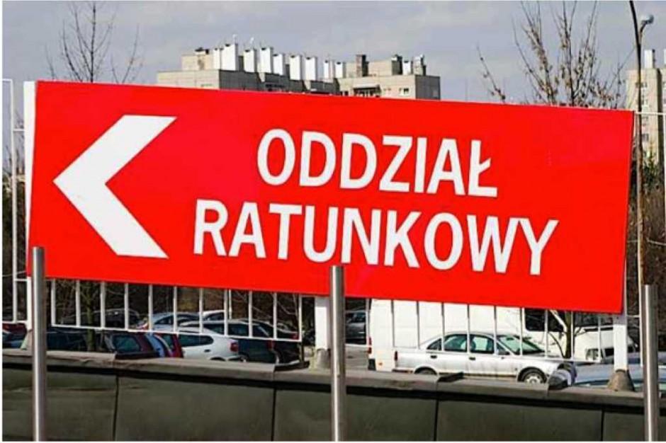 Szumowski: usprawniamy działanie SOR-ów