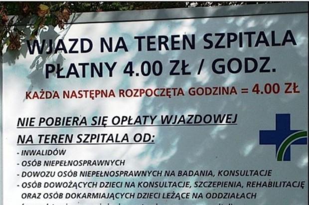 Kalisz: pracownicy szpitala nie będą jednak płacić za parking