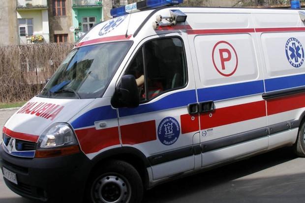 Limanowa: szpitalni kierowcy będą rozdawać odblaski