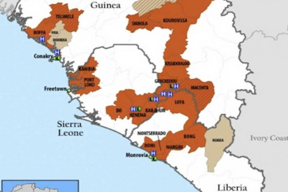 WHO: nowy bilans epidemii eboli - już 4950 ofiar śmiertelnych wirusa