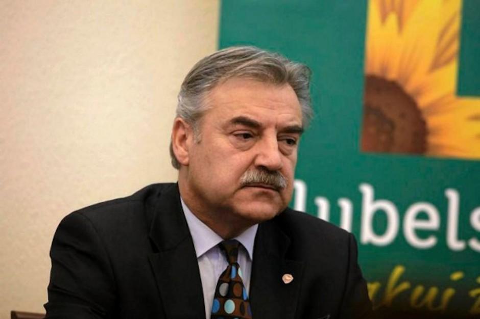 Lublin: odpowiedzialny za zdrowie wicemarszałek nie kandyduje