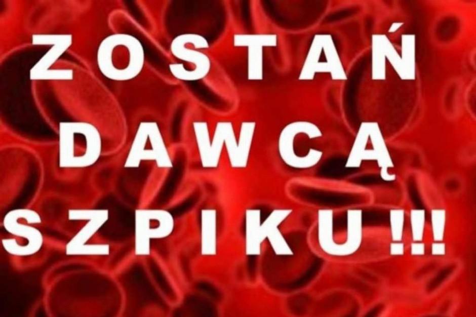 Szczecin: w szpitalu na Pomorzanach zarejestrują potencjalnych dawców szpiku