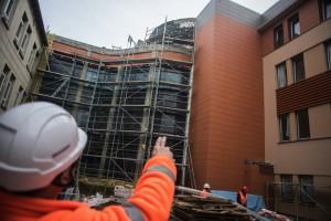 Bydgoszcz: trwa budowa nowego skrzydła Centrum Pulmonologii