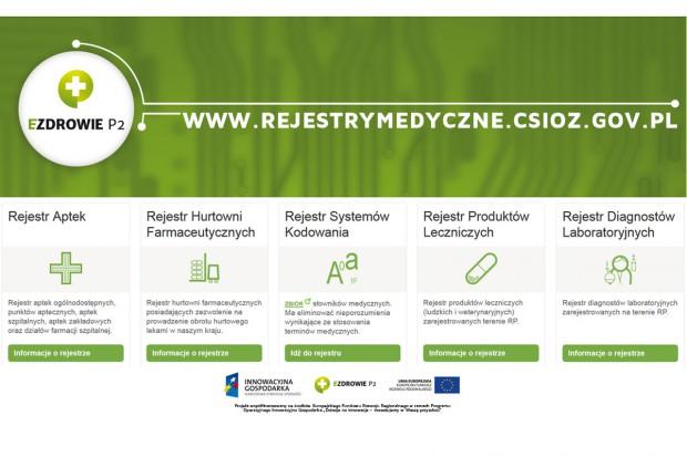Projekt P2 - Platforma Rejestrów Medycznych