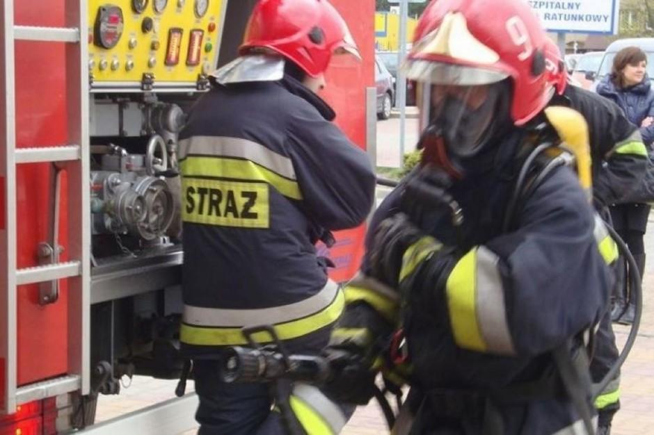 Busko-Zdrój: pożar wymusił ewakuację oddziału dziecięcego