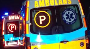Pleszew: ewakuacja chorych z oddziału paliatywnego i ZOL-u. Karetki kursowały całą noc