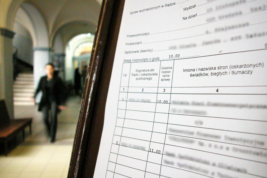 Białystok: sąd utrzymał wyroki w procesie m.in. byłego zastępcy dyrektora oddziału NFZ