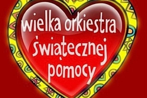 Smok Wawelski i Adam Mickiewicz kwestują dla WOŚP w Krakowie