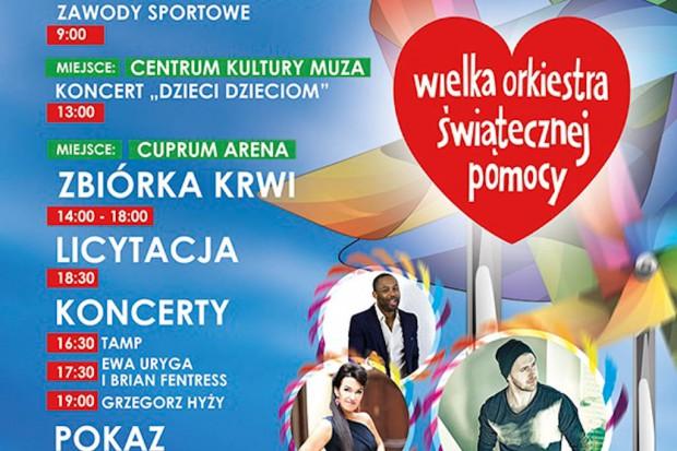 Śląskie: finał WOŚP - koncerty gwiazd i licytacje ról w spektaklach