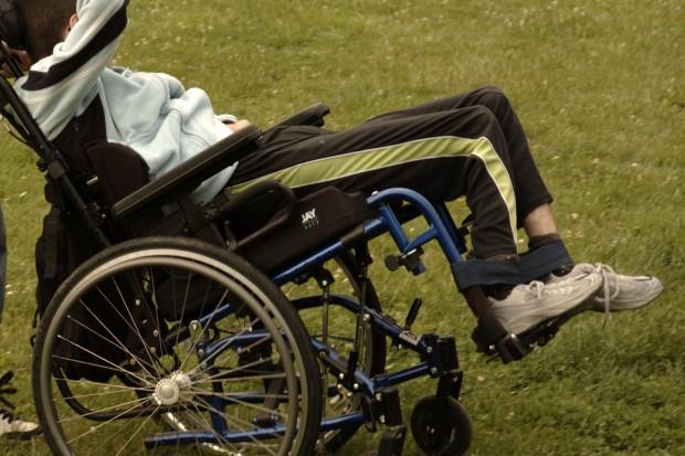 Protest niepełnosprawnych - chcą zmiany systemu wsparcia