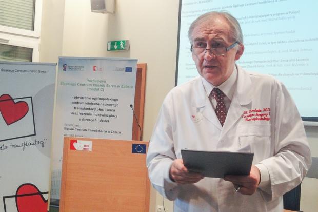 Prof. Zembala: w sprawie donacji narządów potrzeba więcej empatii