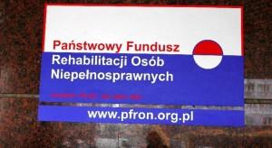 Co najmniej 90 mln z PFRON na aktywizację osób z niepełnosprawnością