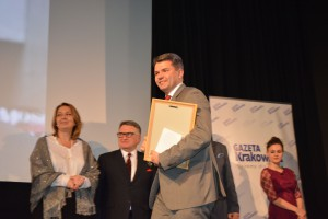 Prof. Dariusz Dudek nagrodzony za osiągnięcia dla Małopolski