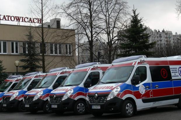Nowe karetki dla Katowic, Gliwic, Pszczyny i Radzionkowa