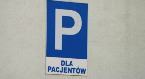 Pabianice: darmowy parking przy szpitalu, ale nie na długo...