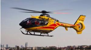 Łódzkie: helikopter LPR nie zabrał pacjenta, bo bał się latać