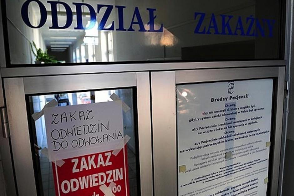 Lublin: z powodu ospy zamknięto oddział patologii ciąży