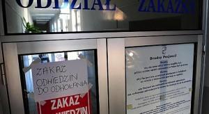 Wrocław: szpital uniwersytecki wstrzymuje odwiedziny