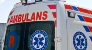 Wrocław: kiedy ratownicy udzielali pomocy, on niszczył karetkę