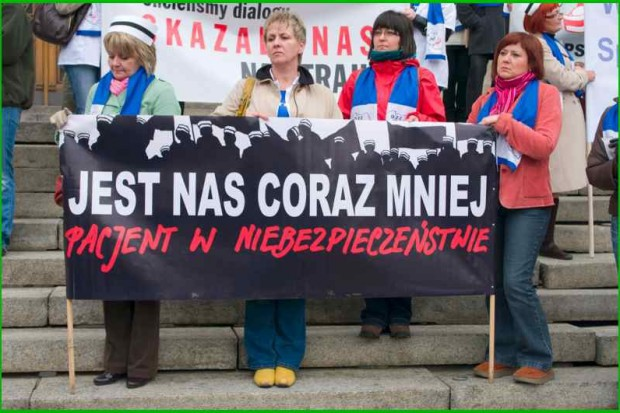 Małopolskie: pielęgniarki walczą o podwyżki