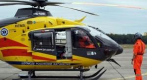 Zielona Góra: monitoring pomógł ustalić sprawcę kolizji, która uziemiła pogotowie lotnicze