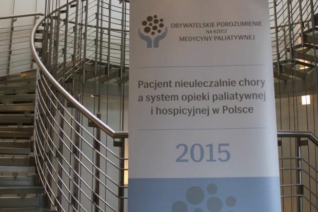 Powstało Obywatelskie Porozumienie na rzecz Medycyny Paliatywnej