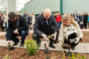 Warszawa: otwarto Ogród Pompego - miejsce spotkań i edukacji