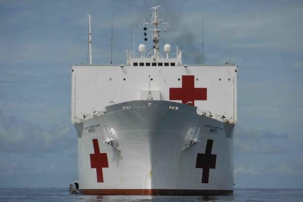 Armia USA posiada dwa największe pływające szpitale
