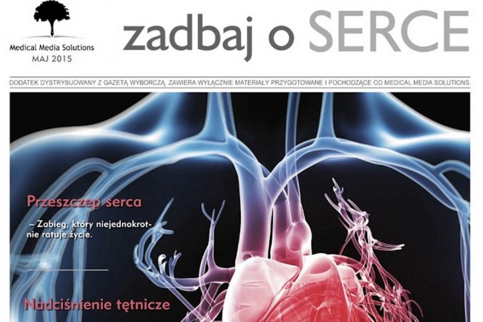 """Kolejna edycja publikacji """"Zadbaj o serce"""""""