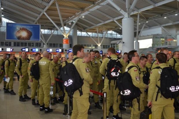 Polscy strażacy wrócą w środę z Nepalu