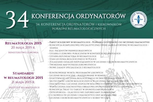 34. Konferencja Ordynatorów i Kierowników Poradni Reumatologicznych